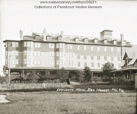 Louisburg Hotel, Bar Harbor, ca. 1910