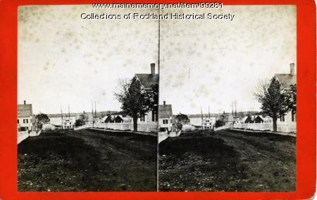Pacific Street looking south, Rockland, ca. 1875