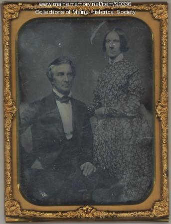 Kiah B. and Lucretia Day Sewall, ca. 1851