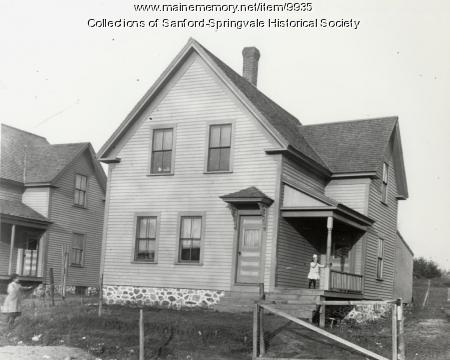 19 North Ave., Sanford, ca. 1900