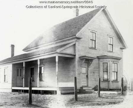 House, Sanford, ca. 1900