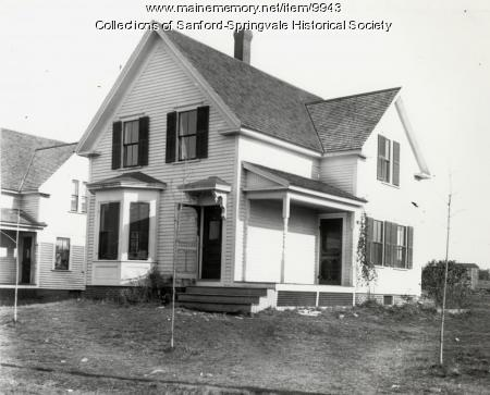 House, Sanford, ca 1900