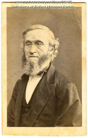 Rev. Cazneau Palfrey, Belfast, ca. 1870
