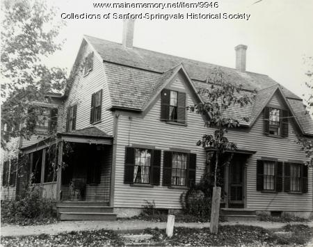 6 Bodwell Street, Sanford, ca. 1900