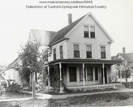 12 Bodwell Street, Broggi Home, Sanford, ca 1900