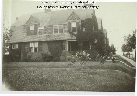 John Calvin Stevens' home