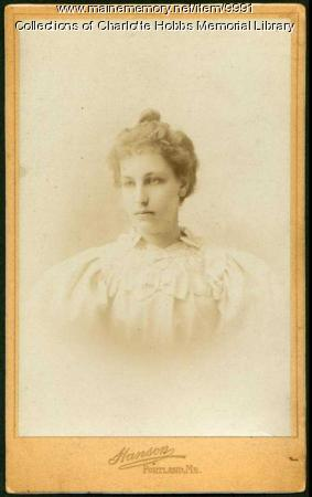 Charlotte Hobbs, Lovell, 1896
