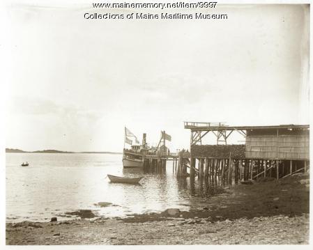 Aucocisco, Bailey Island, ca. 1900