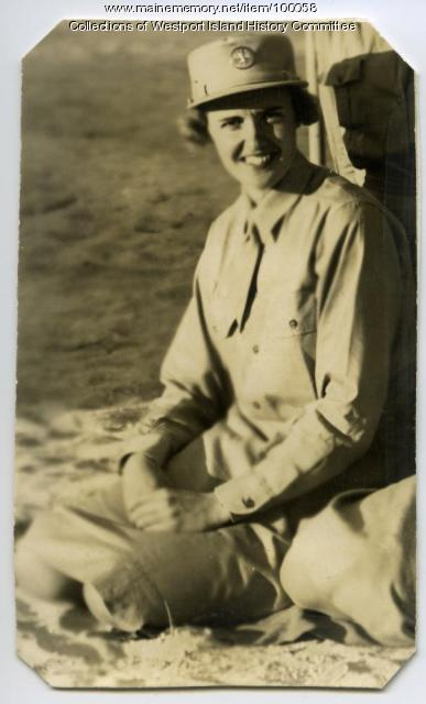 Vera Cleaves, Women's Army Corps, West Point, NY, 1943