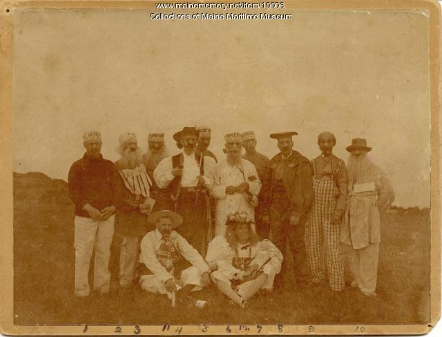 Venerable Cunner Association members, Cape Elizabeth, 1895