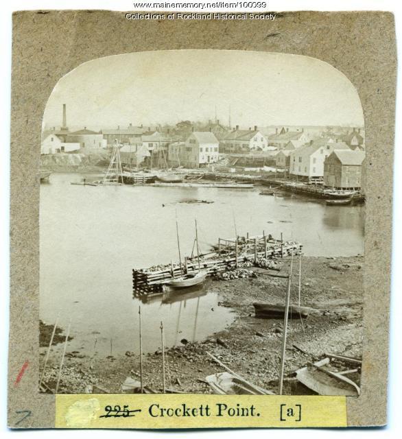 Crockett's Point, Rockland, ca. 1875