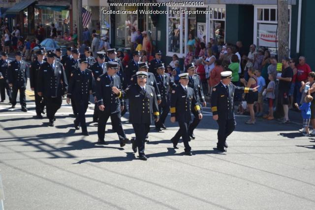 175th anniversary Fire Department, Waldoboro, 2013