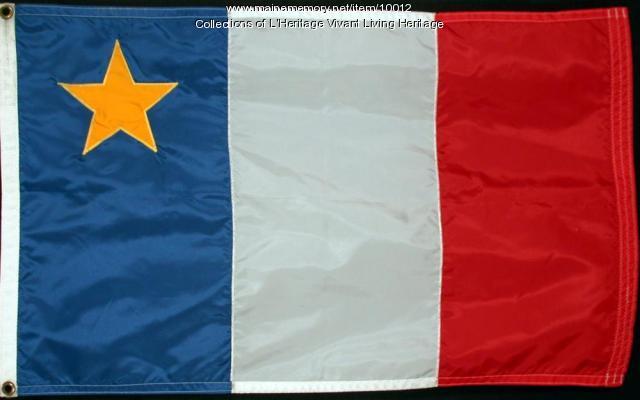 Acadian Flag design