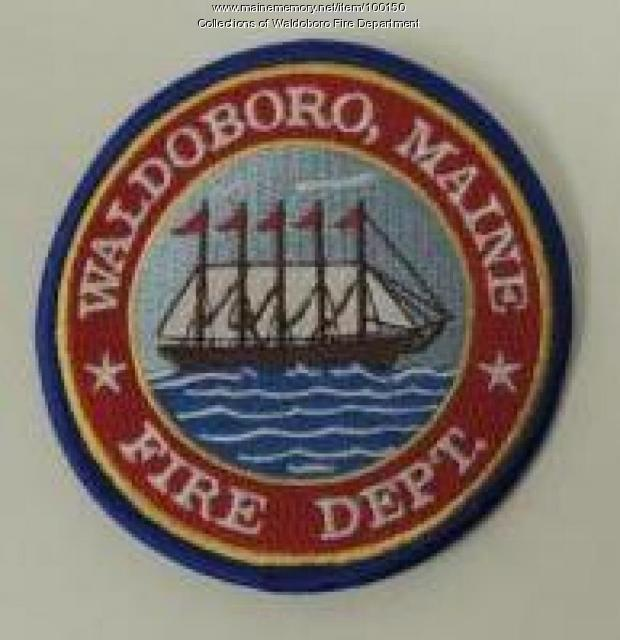 Second Waldoboro Fire Department patch, Waldoboro, ca. 1998