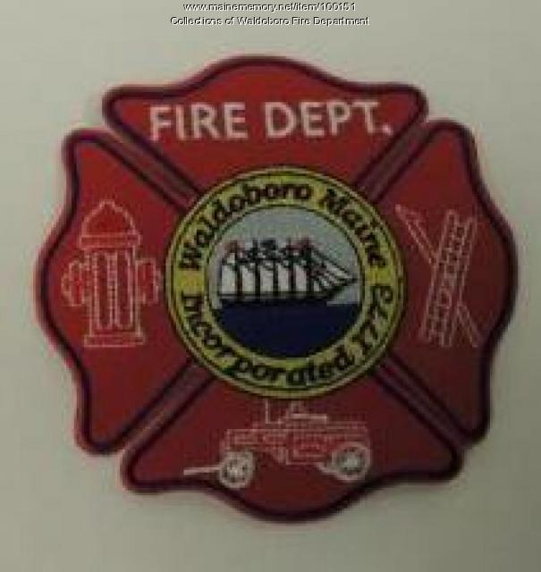 Third Waldoboro Fire Department patch, Waldoboro, 2012