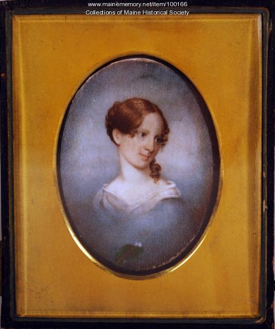 Mary Longfellow, Portland, 1836