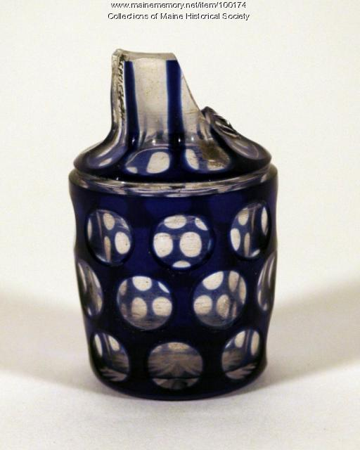 Perfume bottle, Portland, ca. 1850