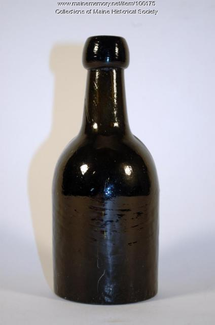 Sprits bottle, Portland, ca. 1850