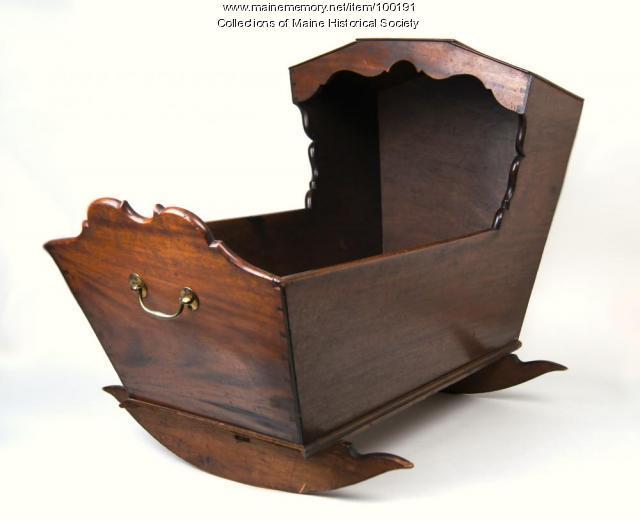 Longfellow cradle, Portland, 1805