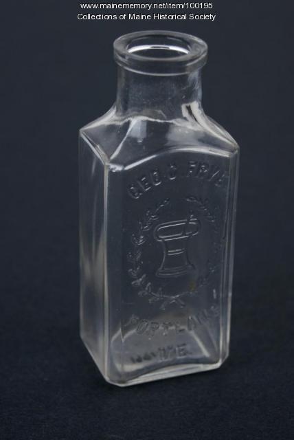 George C. Frye Co. bottle, Portland, ca. 1890
