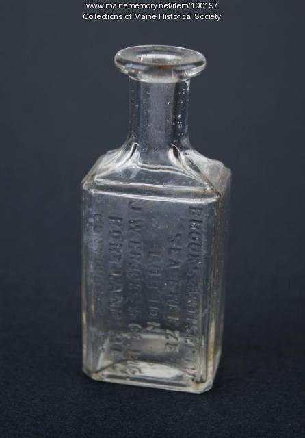 J. W. Brooks & Co. bottle, Portland, 1890