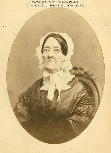 Lucia Wadsworth, Portland, ca. 1862