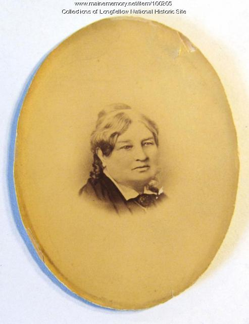 Anne Longfellow Pierce, Portland, ca. 1870
