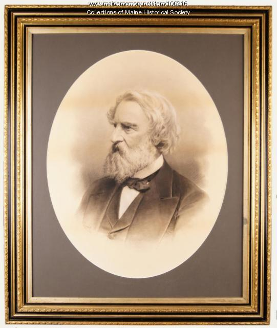 Henry Wadsworth Longfellow portrait, ca. 1880