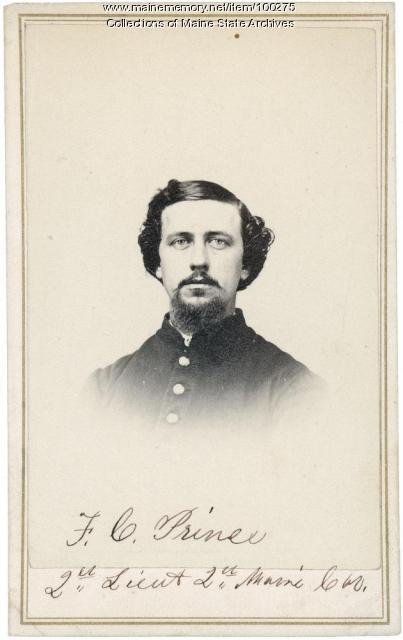 Frederic C. Prince, Scarborough, 1863