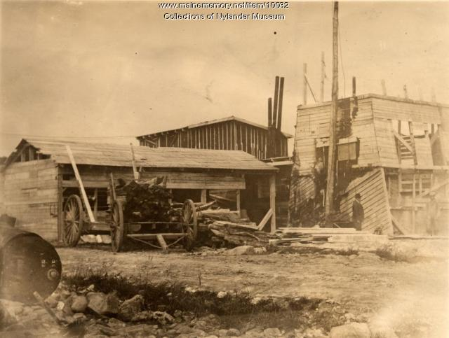Hall's Lime Plant, Nadeau Lake, ca. 1925