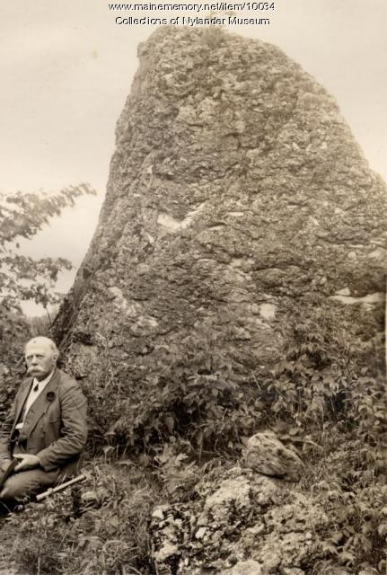 Monolith in Littleton Conglomerate, 1934