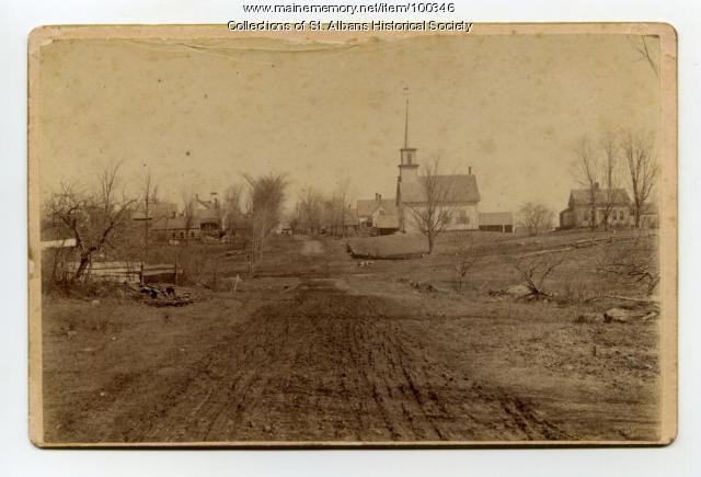 Cross Roads, St. Albans, ca. 1895