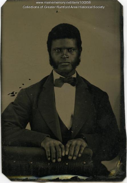 """William """"Napoleon"""" Thomas, Rumford Center, ca. 1870"""