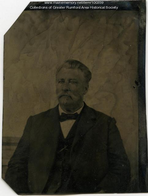 Hiram Abbott, Rumford Center, ca. 1870