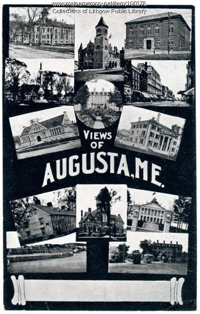 Views of Augusta, ca. 1906