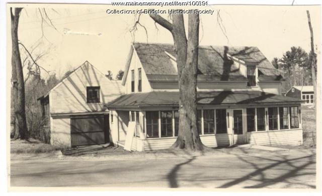 Keen house, 11 Portland Street, Bridgton, ca. 1938
