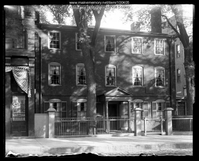 Wadsworth-Longfellow House, Portland, 1906