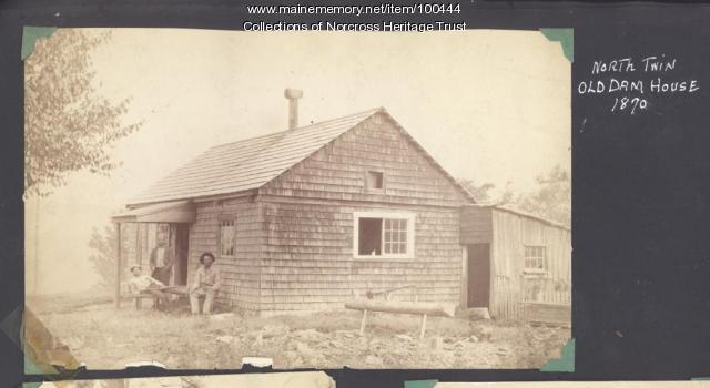 Keeper's house, North Twin Dam, 1870