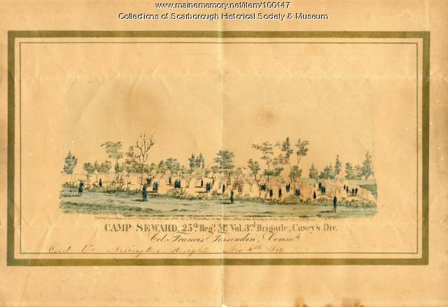 Camp Seward, Arlington Heights, Virginia, 1862