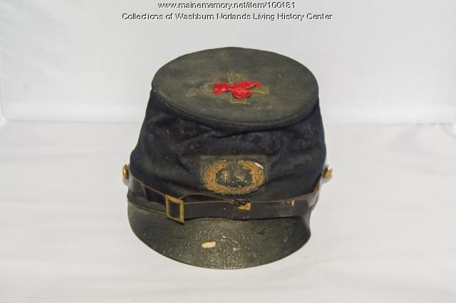Freeland Holmes' Civil War Cap, Foxcroft, ca. 1862