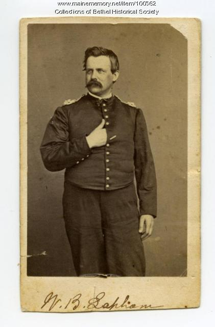 William B. Lapham of Bethel, ca. 1863