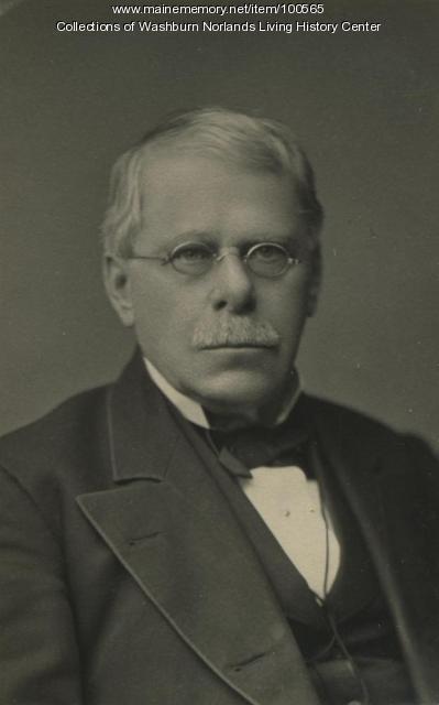 Israel Washburn Jr., Portland, ca. 1860
