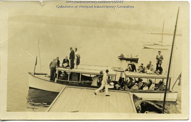 "The ""Donalene"", Westport Island, ca. 1935"
