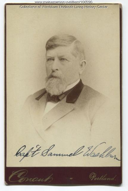 Samuel B. Washburn, Portland, ca. 1865