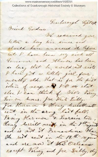 letter to soldier