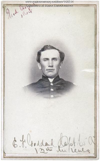Elisha F. Goddard, Rumford Point, ca. 1861