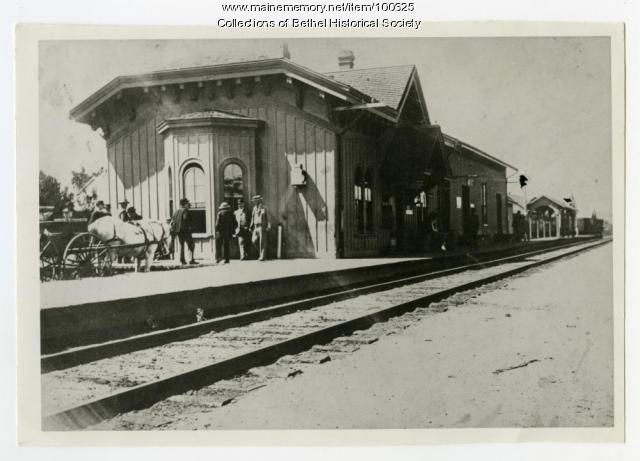 Grand Trunk Railway station, Bethel, ca. 1880