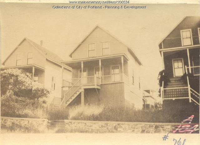 Ward property, E. Side Whitehead Street, Peaks Island, Portland, 1924