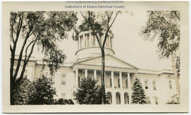Maine State House, Augusta, ca. 1936