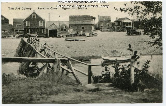 The Art Colony, Perkins Cove, Ogunquit, ca. 1936